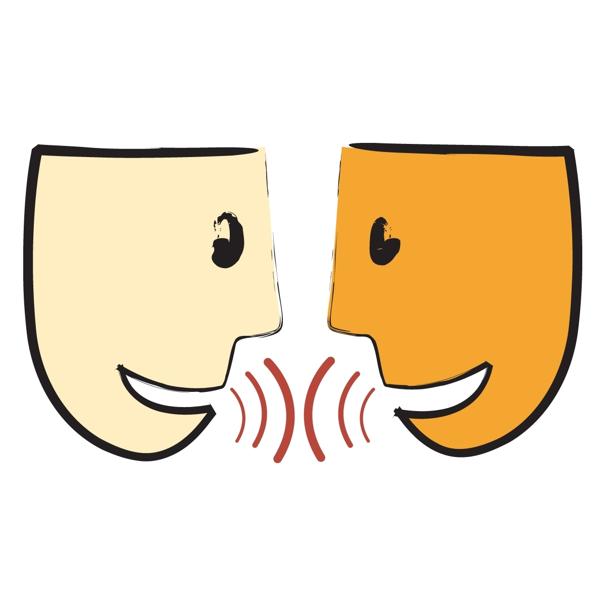 Clip art library . Communication clipart oral communication