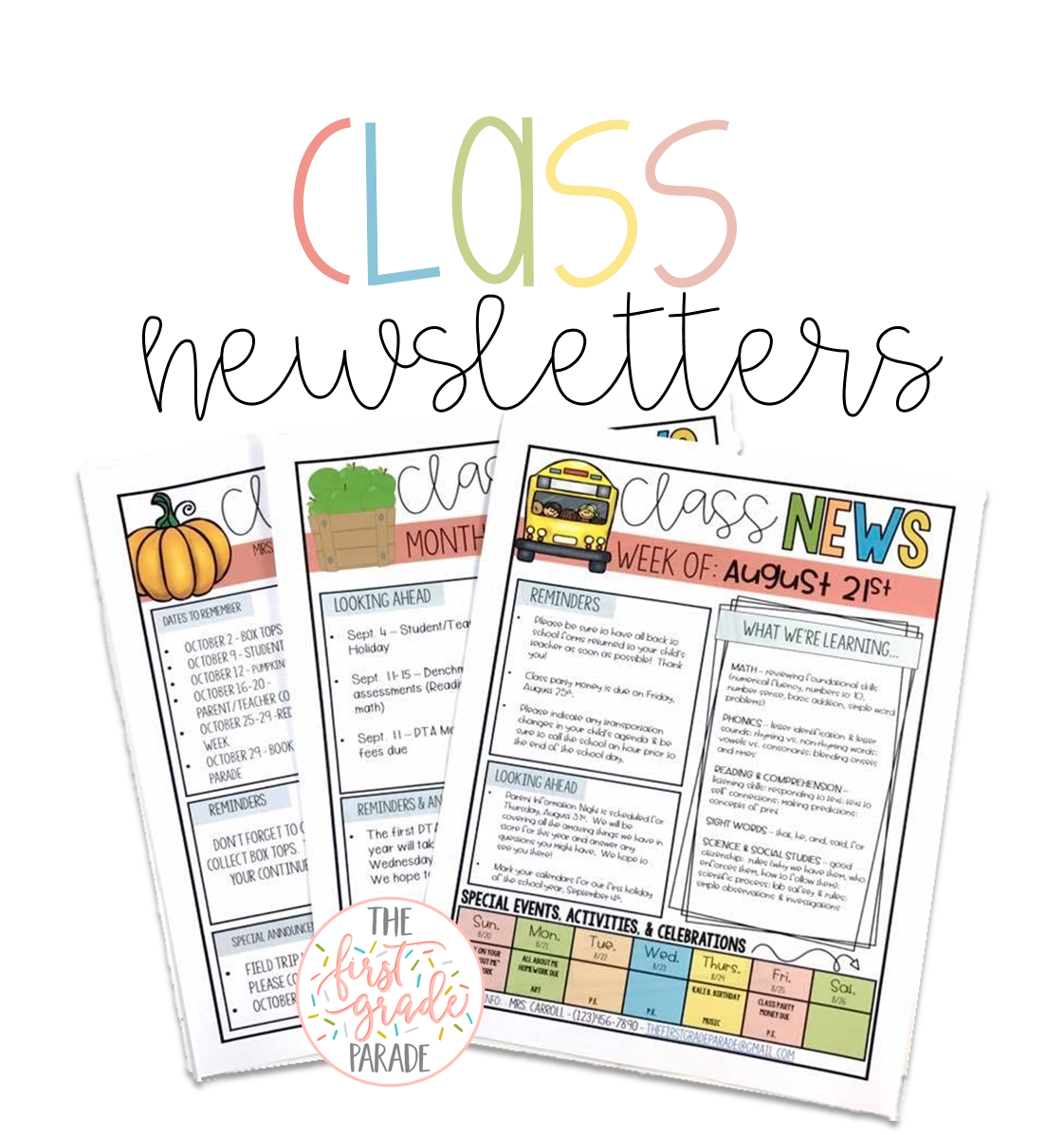 Managing the first grade. Communication clipart parent communication