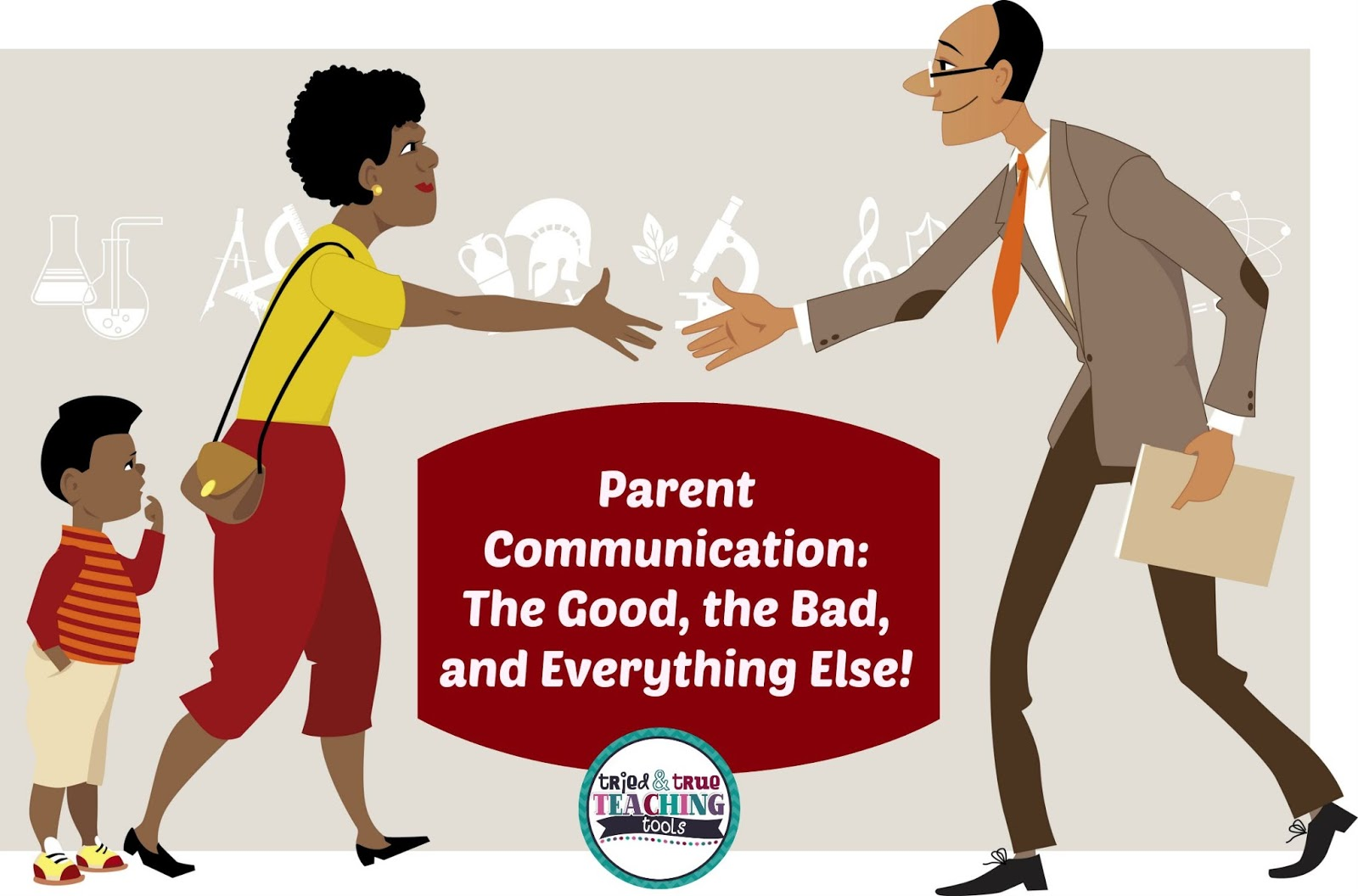 Communication clipart parent communication. The good bad and
