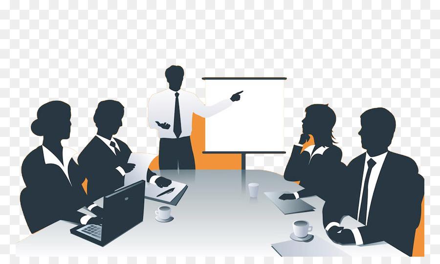 Business meeting . Communication clipart presentation