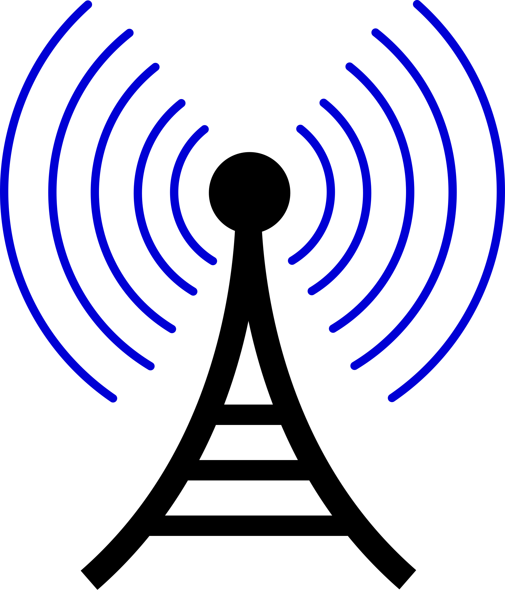 Internet clipart connection. Radio wireless tower cor