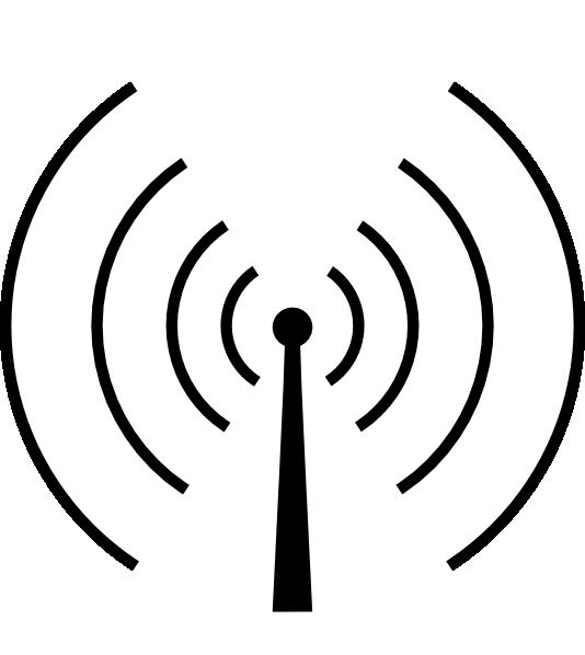 Communication clipart radio communication. Tower circluar clip art