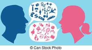 Communication clipart verbal communication. Station