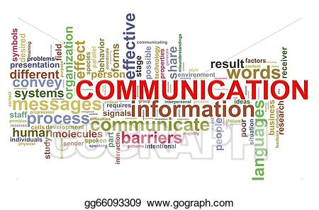 Word tags stock illustration. Words clipart communication