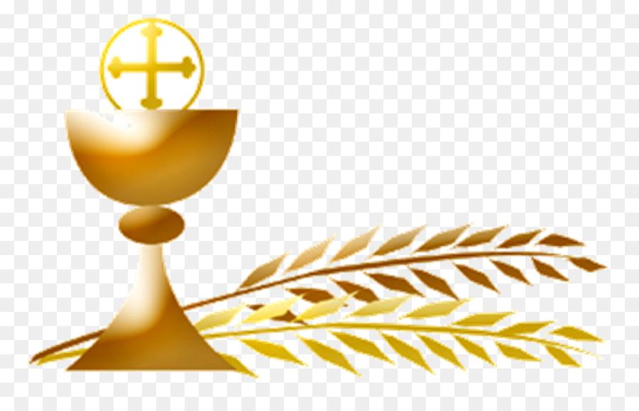 Gold eucharist transparent clip. Communion clipart background