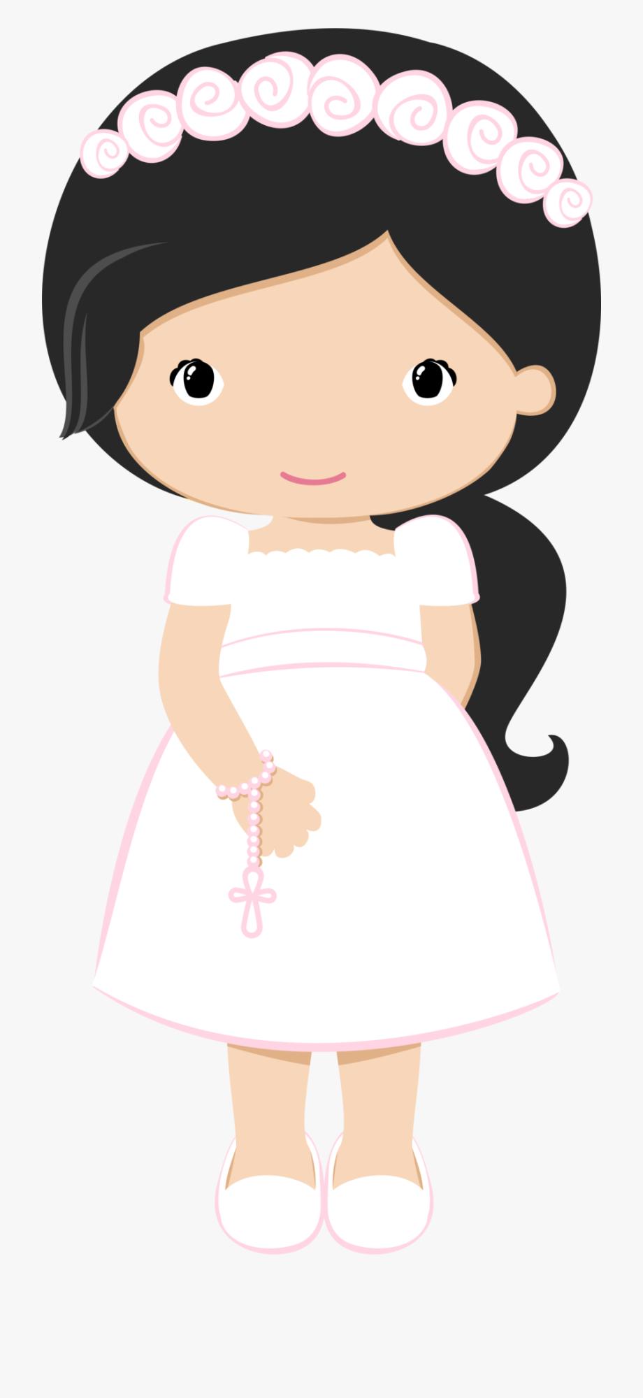 Communion clipart cartoon. First holy babyshower decoupage