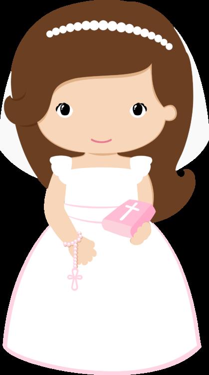 Dolls clipart muneca. Grafos communiongirl png download