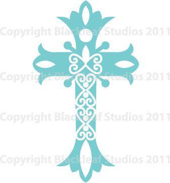 Pin on gift ideas. Communion clipart cross filigree
