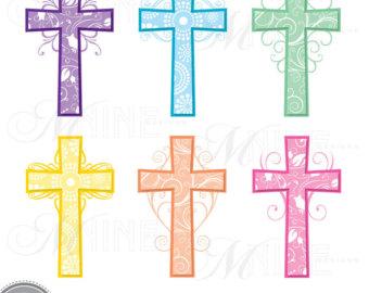 Communion clipart cross filigree. Pink clip art panda