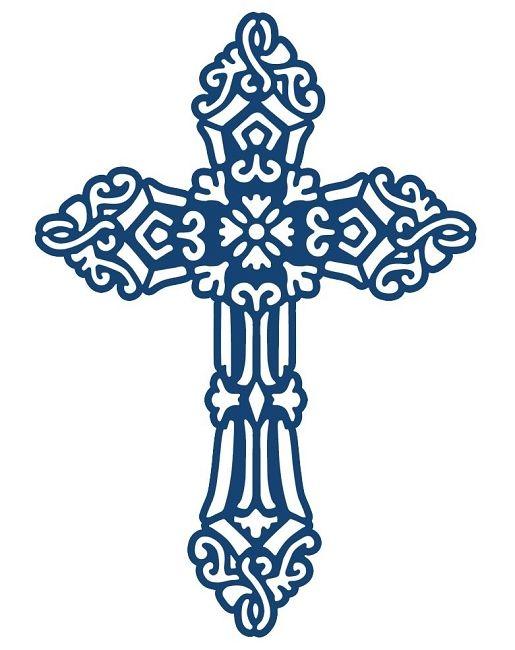 Pin by caitlyn madura. Communion clipart cross filigree