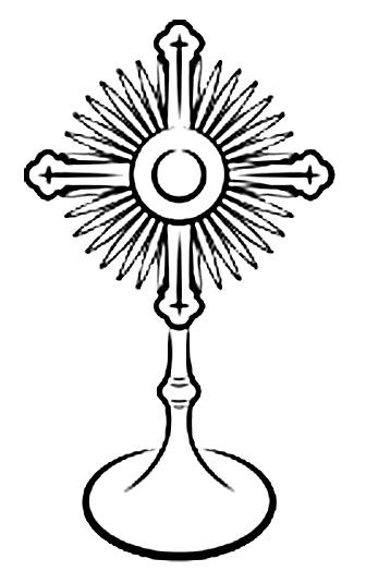 Download monstrance eucharist clip. Communion clipart eucharistic adoration
