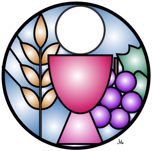 Eucharist . Communion clipart eucharistic prayer