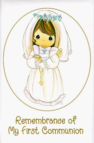 Pin on moments . Communion clipart first precious moment