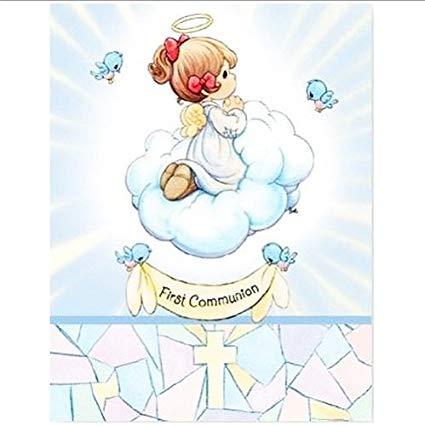 Amazon com moments invitations. Communion clipart first precious moment