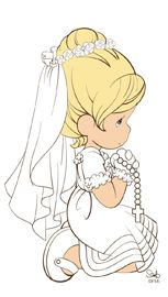 Communion clipart first precious moment. Moments personalized canvas print