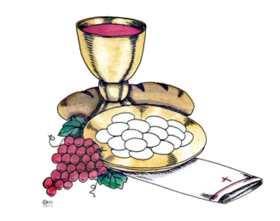 Holy immaculate conception parish. Grape clipart first communion