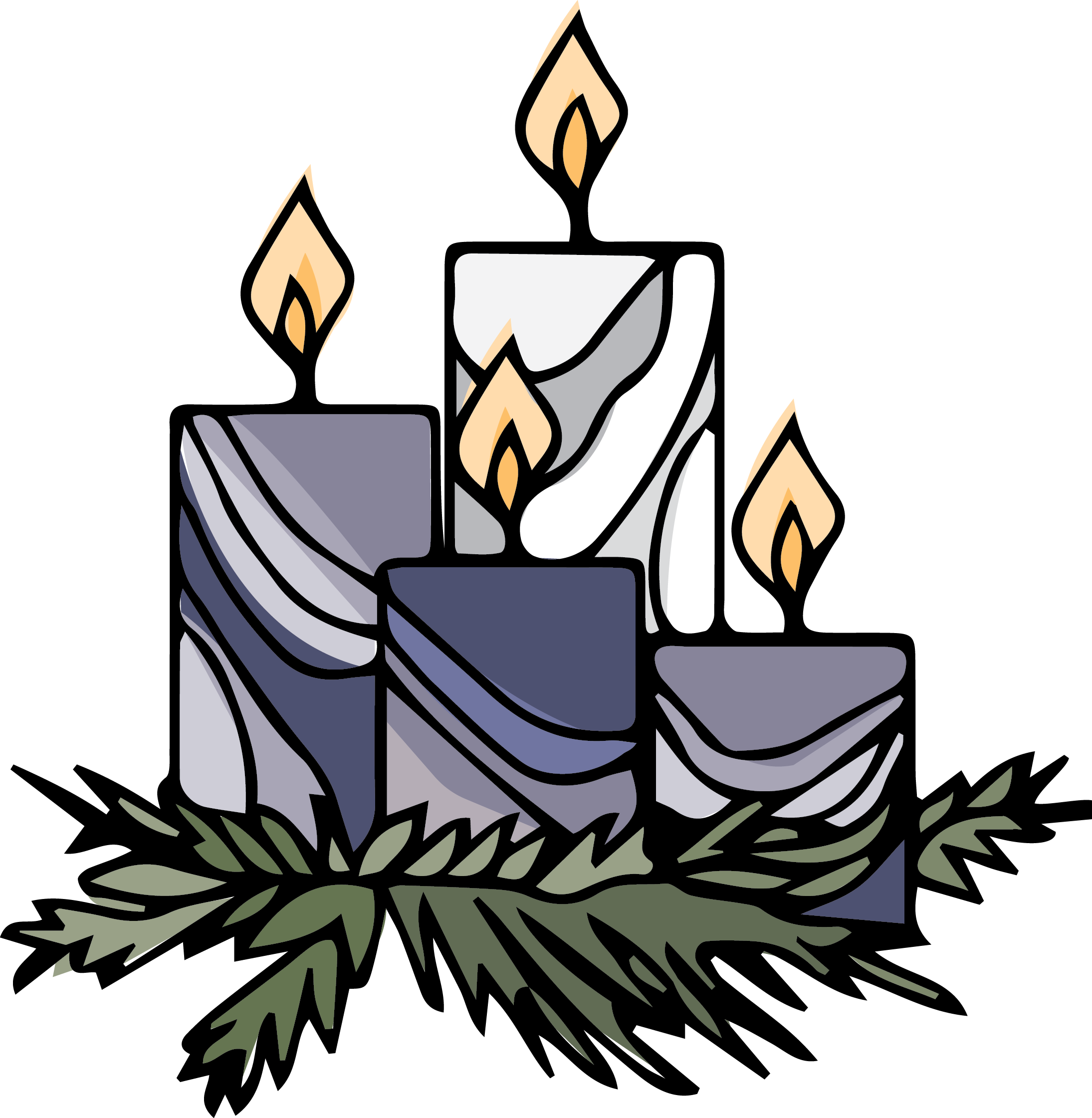 Advent adventcandles. Receptionist clipart office stress