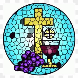 Communion clipart initiation. Cross sacraments of eucharist