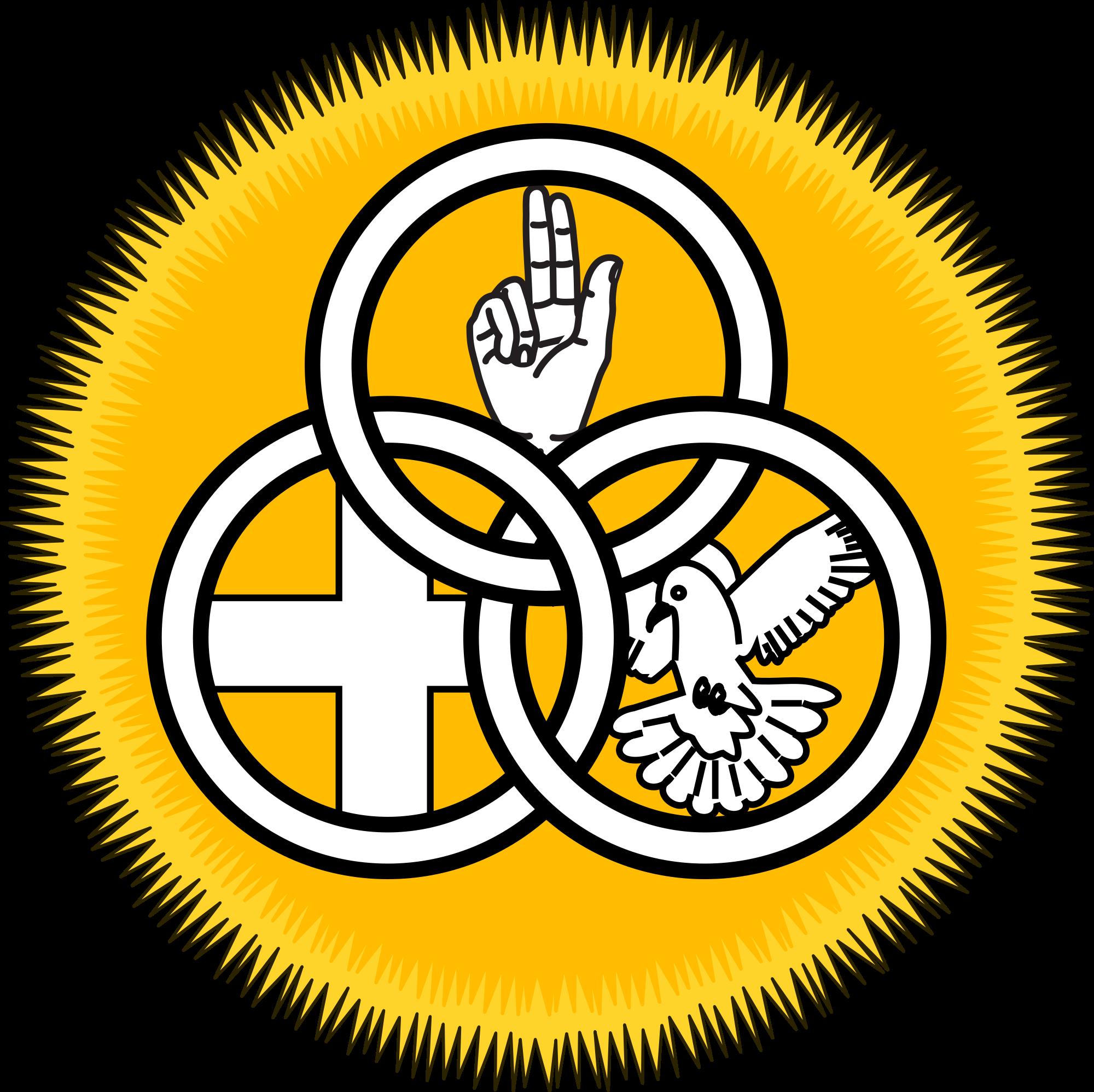 Holy trinity drawing at. Faith clipart christianity