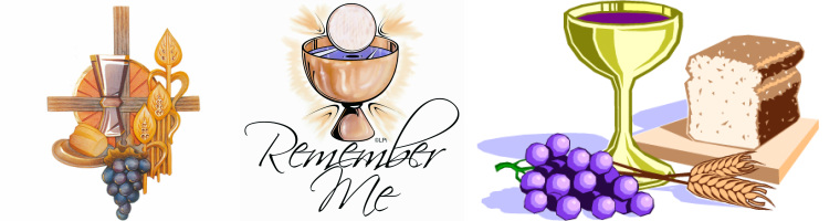 Communion clipart remember me. Structure of the mass