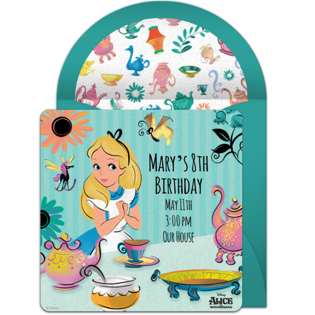 Free alice in wonderland. Communion clipart save the date