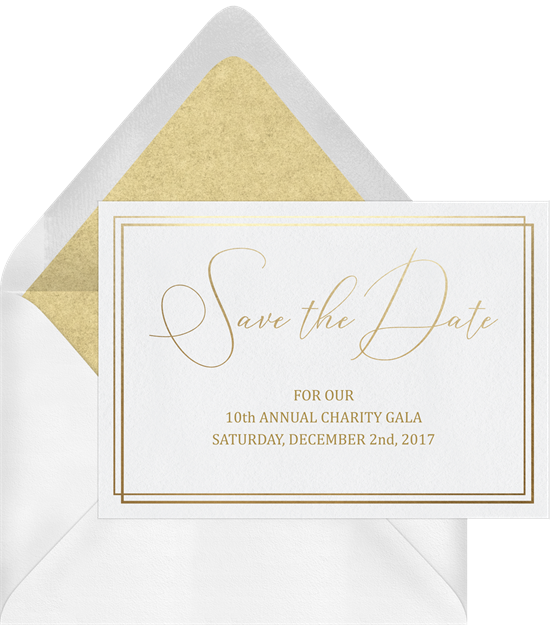 Simple gala dates in. December clipart save the date