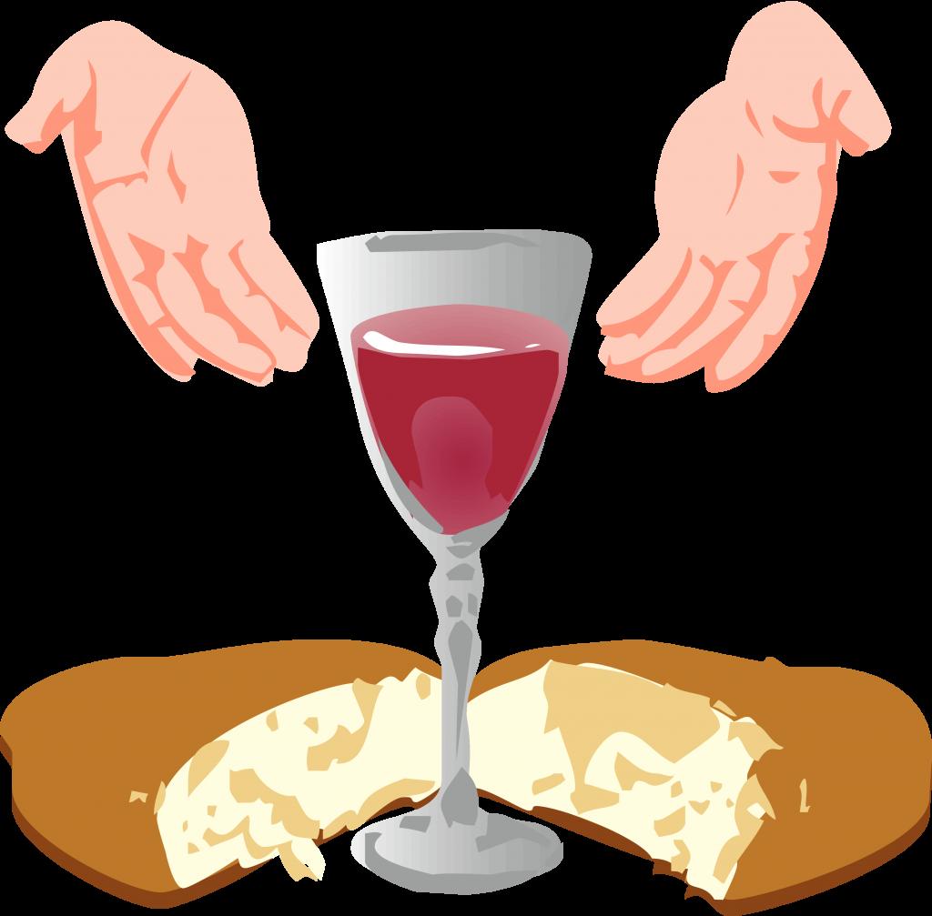 Eucharist first sacrament clip. Communion clipart the last supper