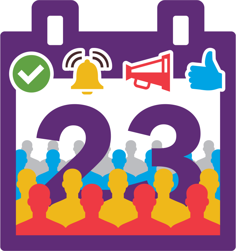 Community clipart community event. Schedule and promote events