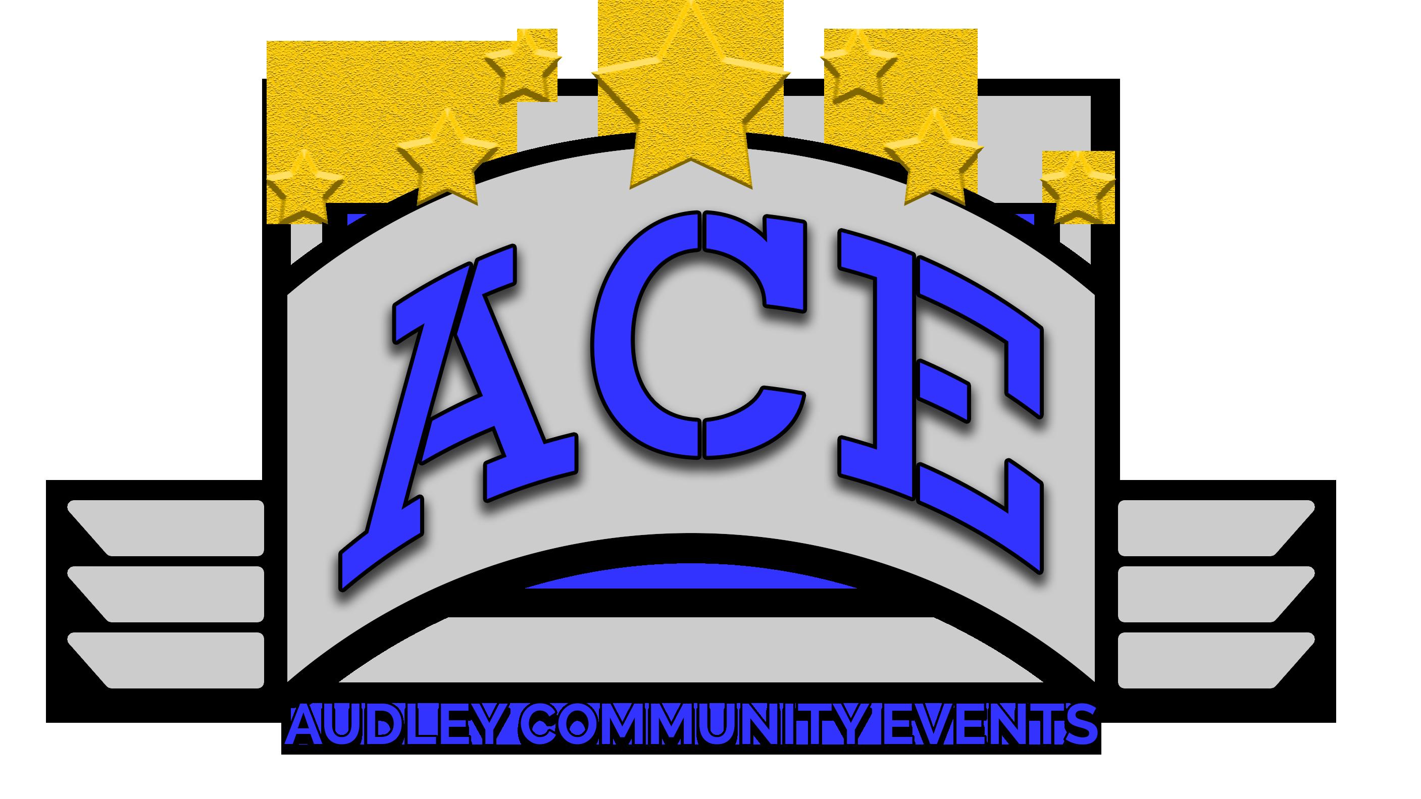 Community clipart community event. Ace audley events centre