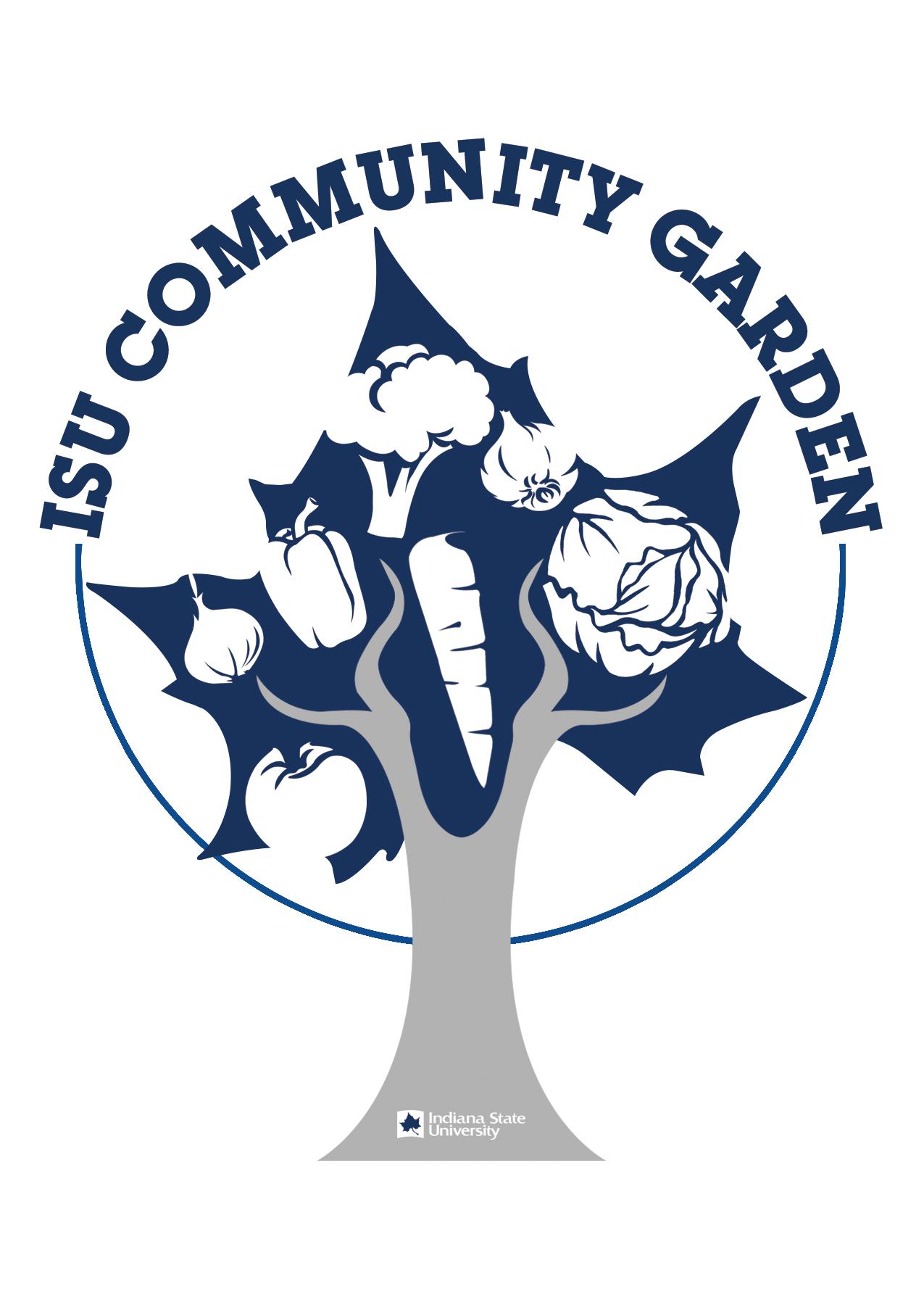Isu community garden plots. Volunteering clipart gardening