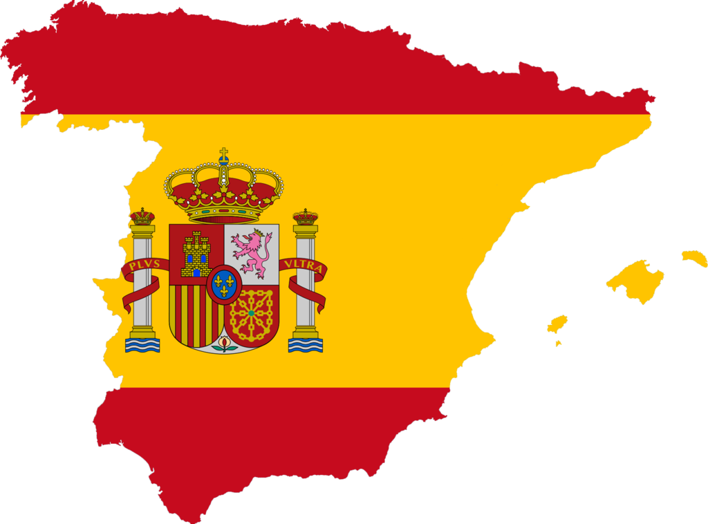 Image px spain flag. Europe clipart sketch