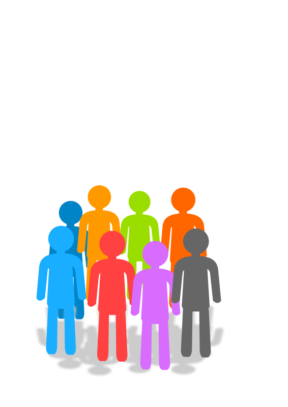 Free population psd files. Humans clipart demographics