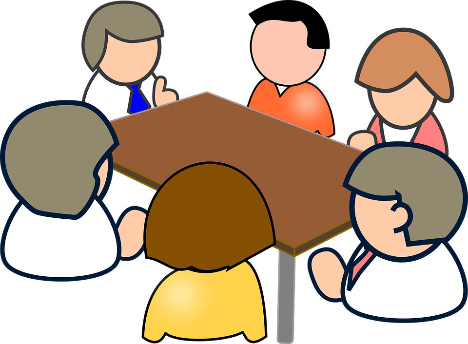 Committee elections information oxford. Conflict clipart meeting
