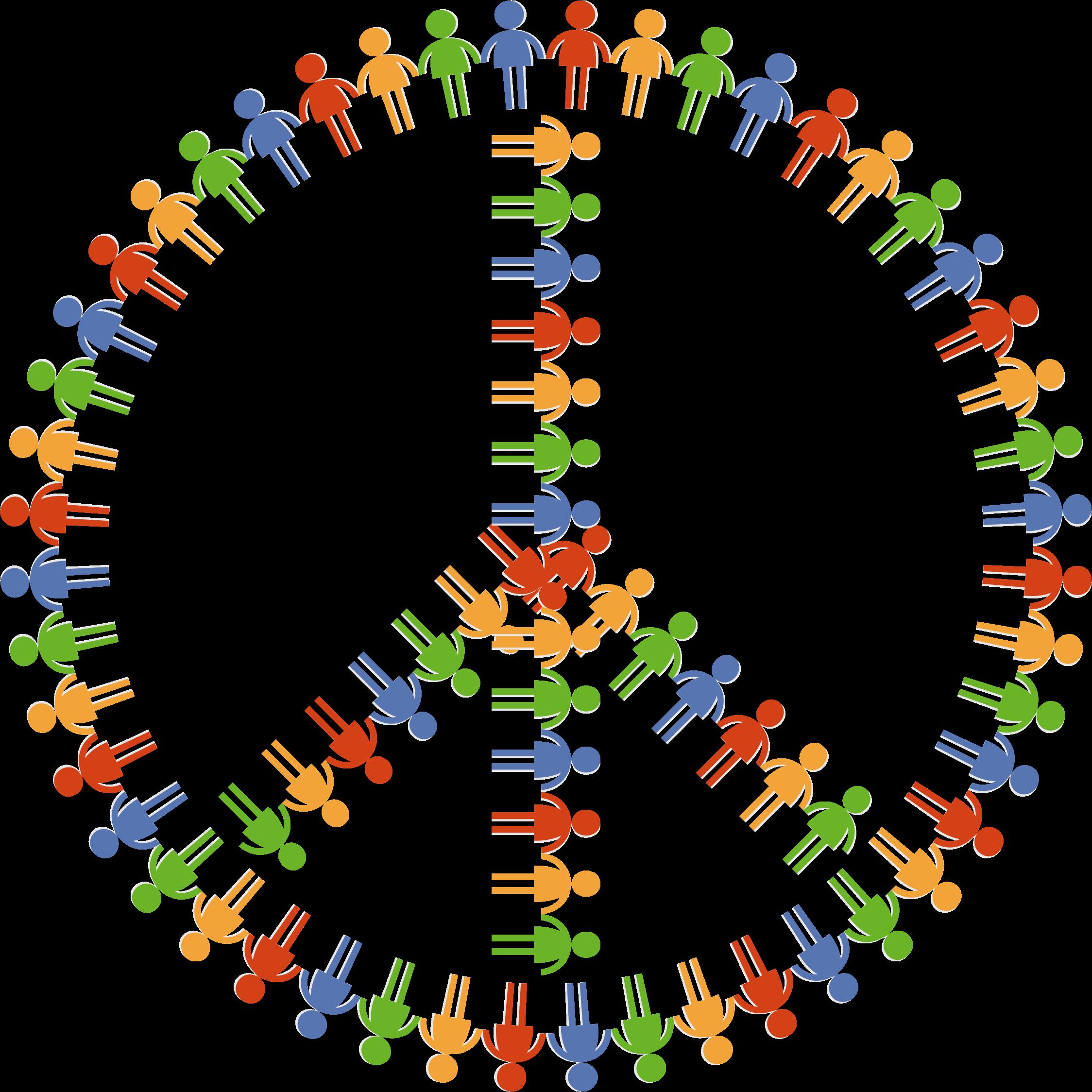 Peace clipart peace harmony. Community sign big image