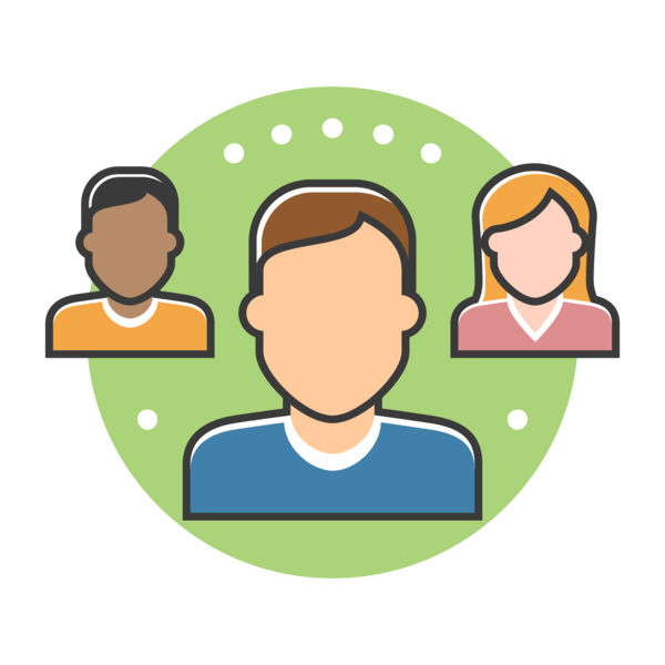 Local connections marketing cross. Community clipart community member