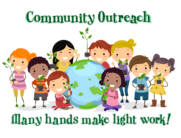 Community clipart community outreach. Flckinston null
