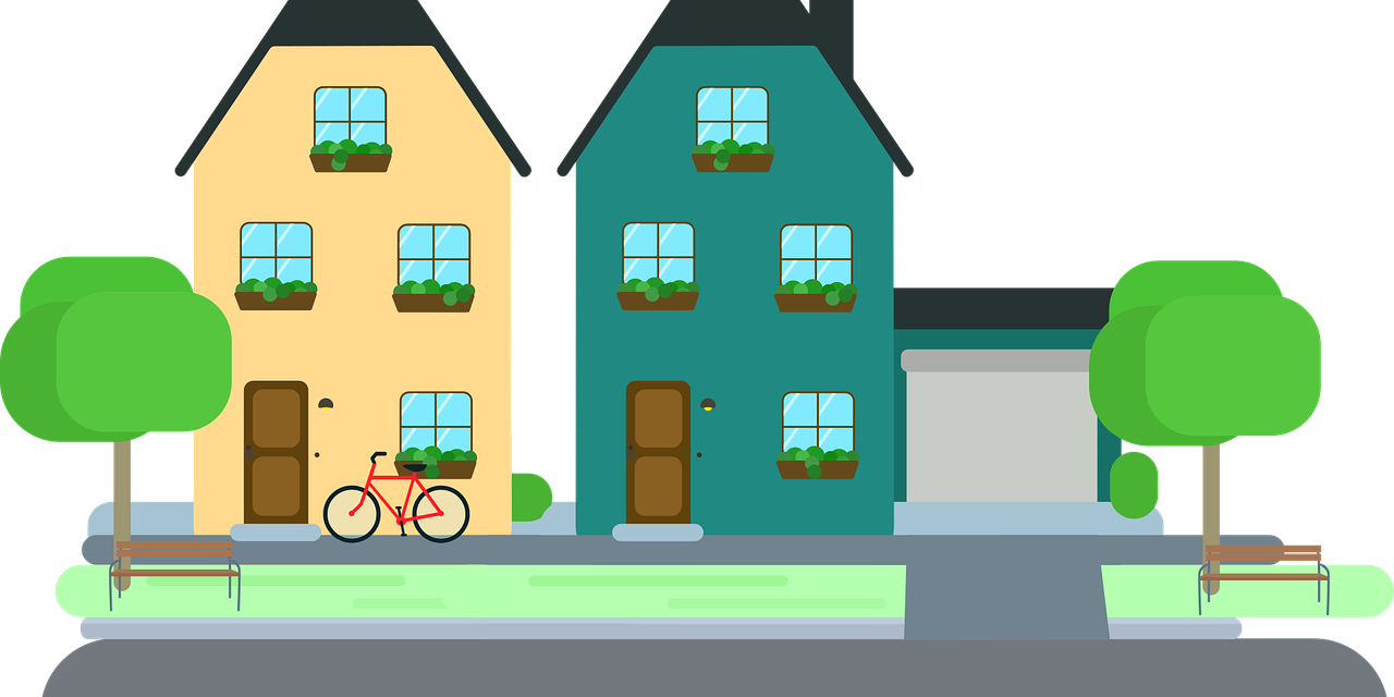 Home clipart neighborhood. Talk to your neighbors
