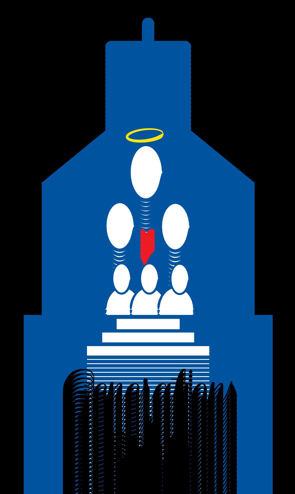Community clipart parishioner. Adult ministry saint joseph