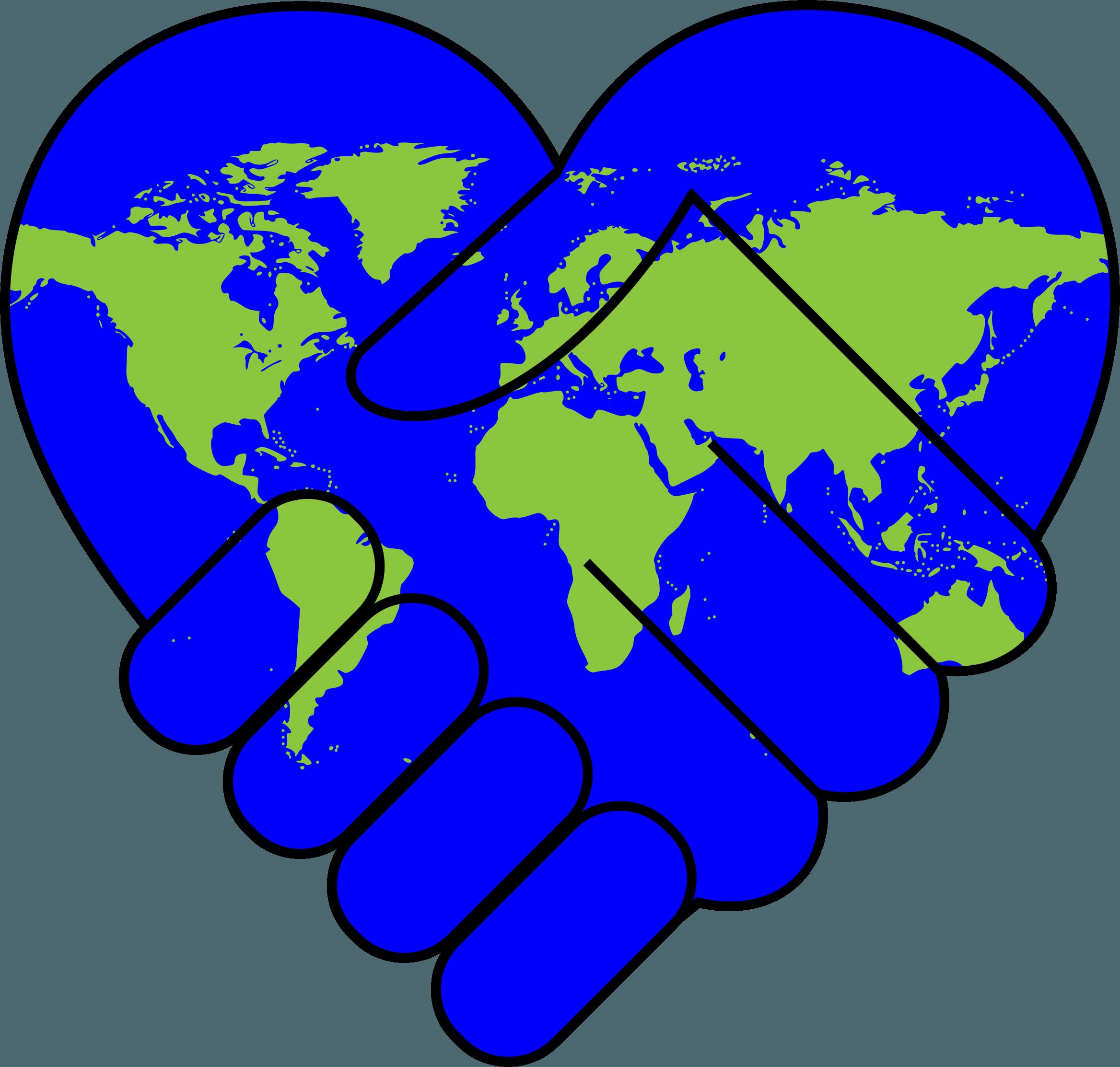 Neighbors clipart peaceful community. International day of peace