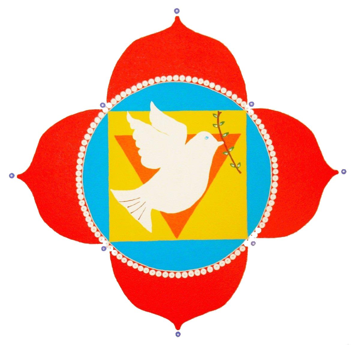 Meditation clipart spiritual wellness. Make peace yoga