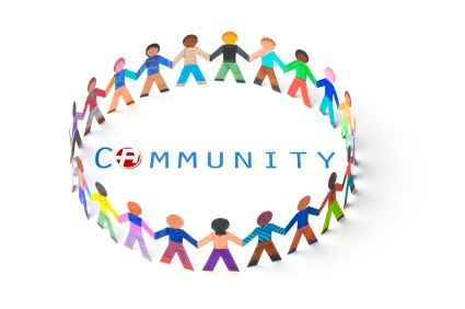 Invitation . Community clipart social involvement