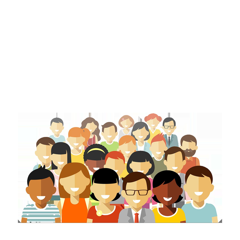 Group illustration a sea. Community clipart social need