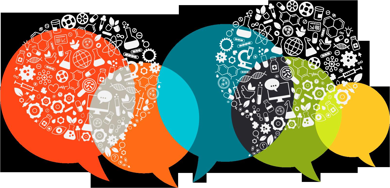 Digital first blog book. Community clipart social need