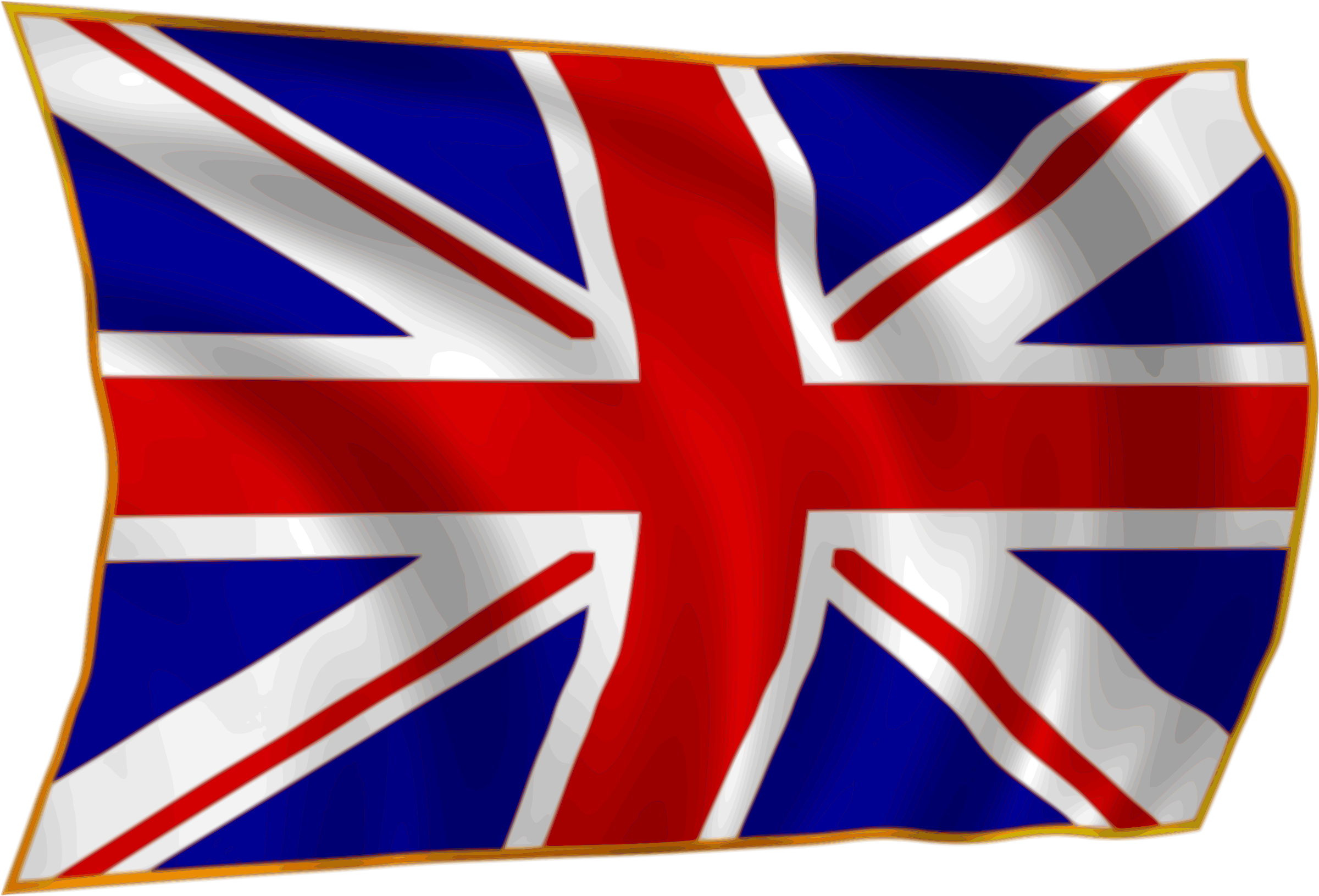 Yearbook clipart transparent background. Union flag fluttering in