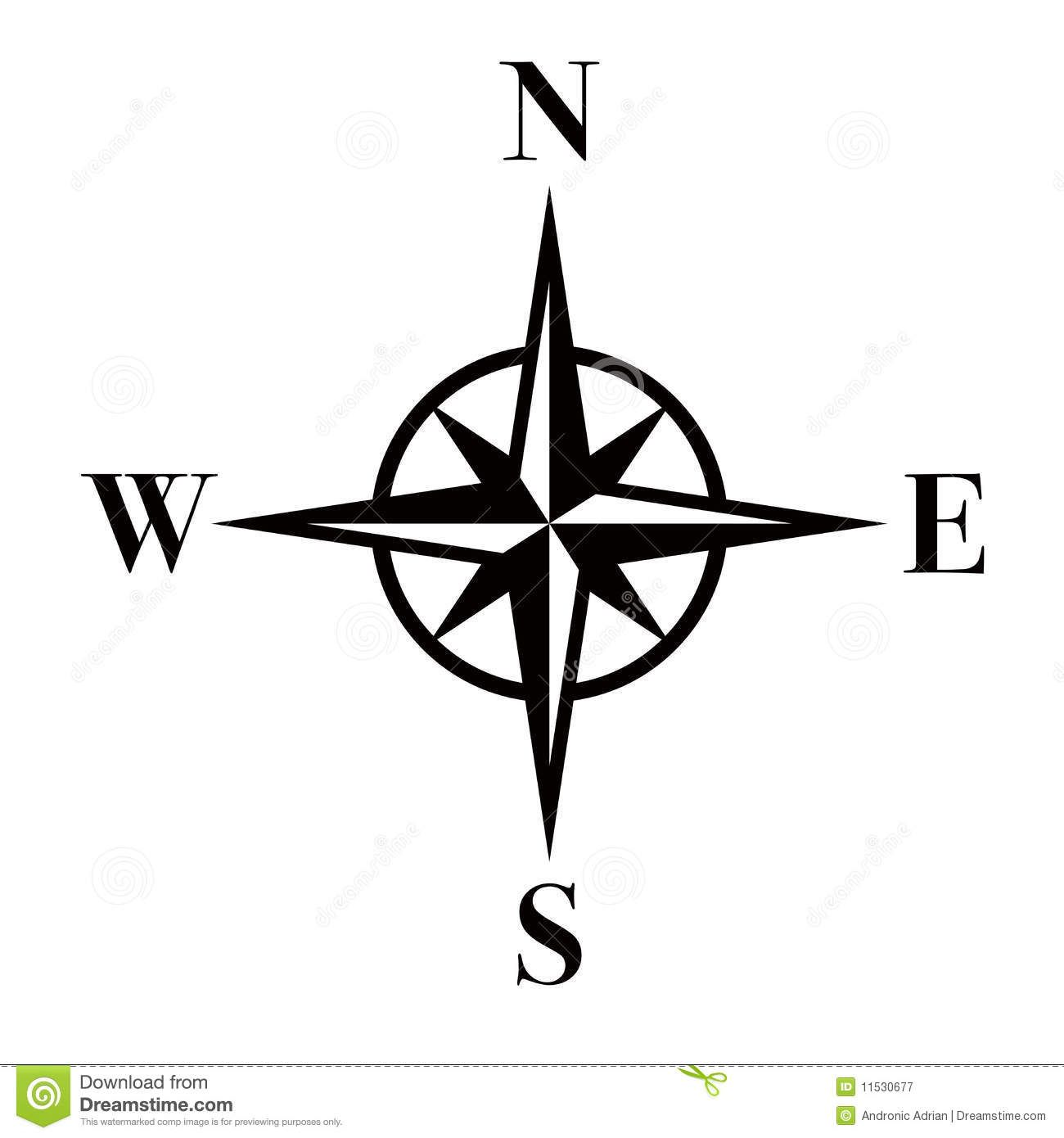 Compass clipart abstract. Eps download from over