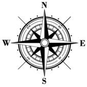rose clipartlook. Compass clipart ancient