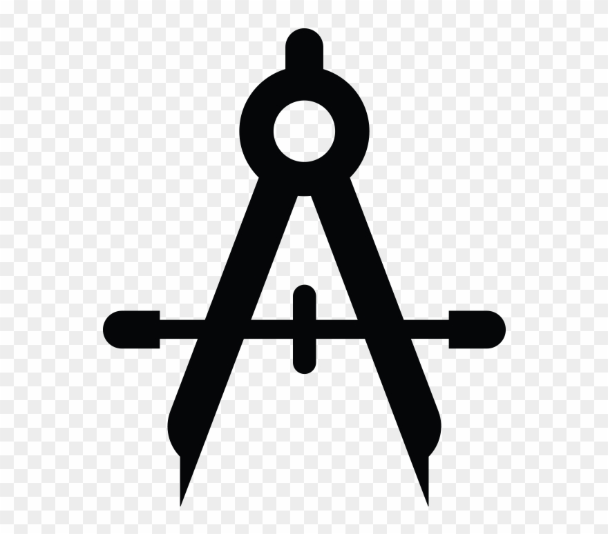 Compass clipart architect. Product design icon png