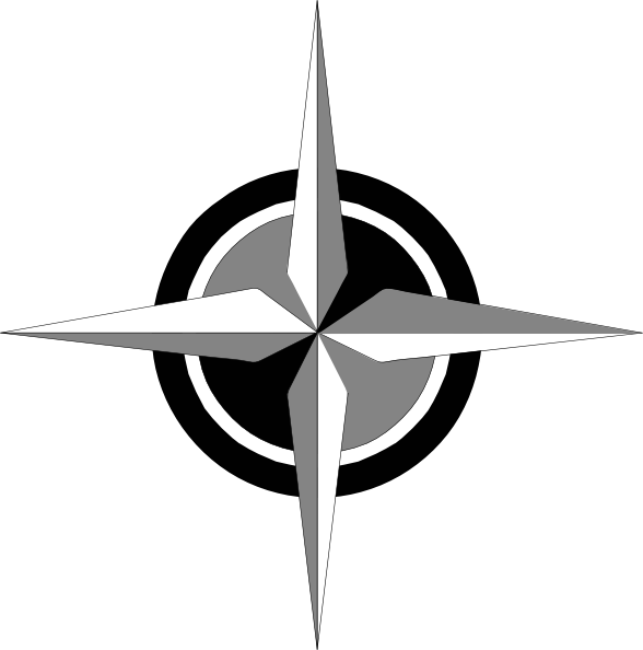 Navy clipart compass. Rose clip art at