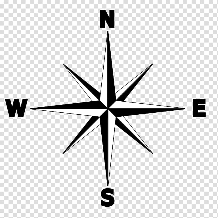 Rose north wind wid. Compass clipart compas