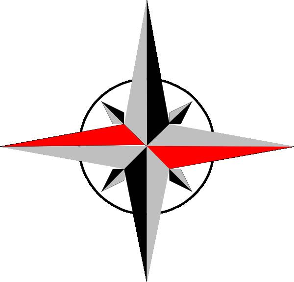 Compass clipart compass needle. East west clip art